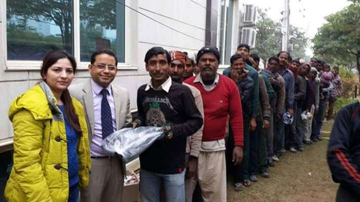 Blanket Distribution-Mehaan Charitable Foundation